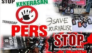 Ilustrasi kekerasan jurnalis. Foto IST