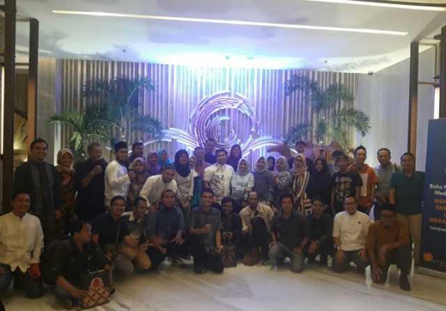 PGN Lampung Buka Puasa Bersama awak Media Lampung yang digelar di Hotel Radisson, Jumat (17/5/2019). Foto Istimewa
