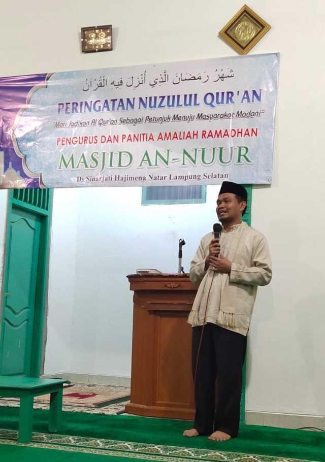KH. Ahmad Mufti Salim, Lc, MA. Foto Istimewa