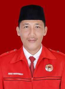 Ketua Bidang Kehormatan dan Organisasi DPC PDI Perjuangan Kabupaten Pringsewu Aris Wahyudi . Foto IST