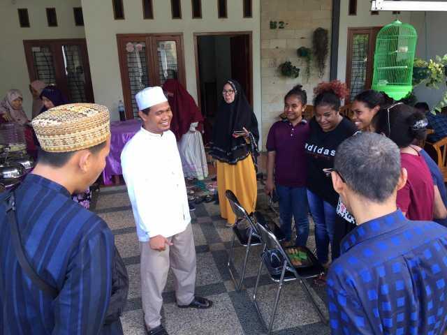 Open house halal bihalal PKS Lampung di kediaman Ketua Umum PKS Lampung Ahmad Mufti Salim, Senin (10/6/2019). Foto Istimewa