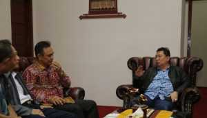 Boytenjuri saat tiba di Bandara Radin Inten II Natar Lamsel, Senin (3/6/2019). Foto Humas Pemprov Lampung