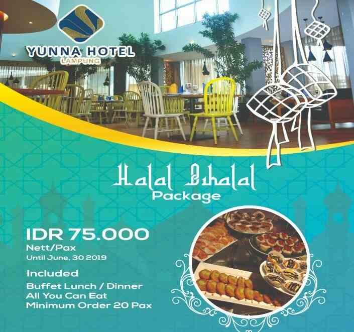 Promo 'Halal Bihalal Package' Yunna Hotel, Makan Sepuasnya