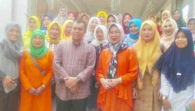 Silaturahmi dan halal bihalal Pengurus IGTK Lampung dengan Bustami Zainudin, Kamis (20/6/2019). Foto Istimewa