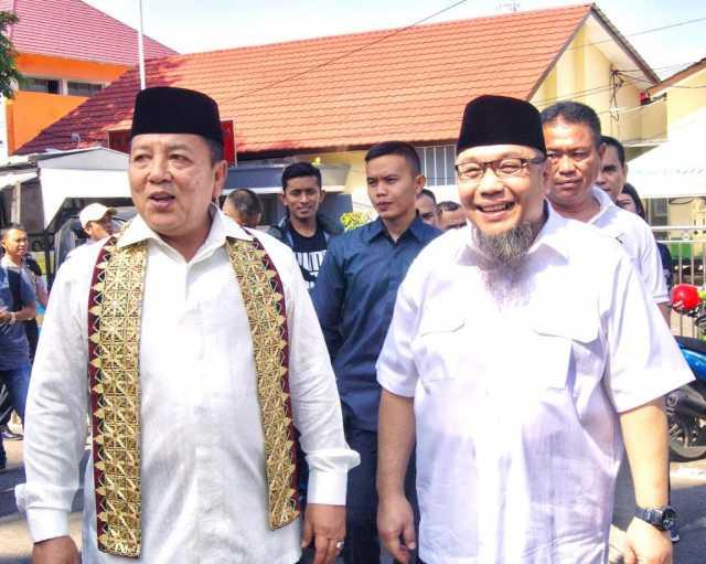 H. Tony Eka Candra bersama Gubernur Lampung Arinal Djunaidi. Foto Istimewa