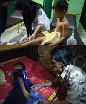 Dua korban. Foto Istimewa