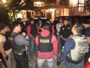 Kasat Reskrim Polres Tanggamus AKP Edi Qorinas terjun langsung memimpin penangkapan tersangka curas rampok di Pekan Sinar Banten. Foto Istimewa