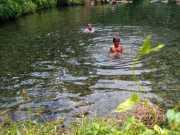 Lokasi pemandian alam di Lampung Timur. (antaralampung/istimewa)