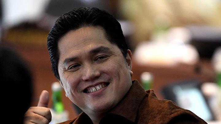 Menteri BUMN Erick Thohir. ANTARA/Puspa Perwitasari