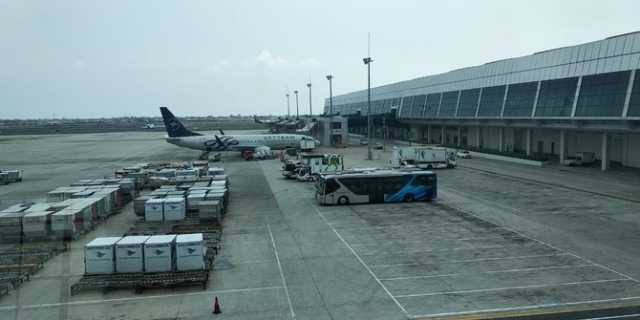 AP II Siap Operasikan Terminal 2F Bandara Soekarno Hatta Sebagai LCCT. ©2019 Merdeka.com