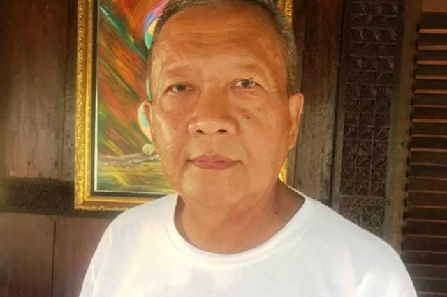 H Gunadi Ibrahim SE, Ketua Partai Gerindra Provinsi Lampung yang telah dinyatakan sembuh dari infeksi COVID-19. (ANTARA/HO)