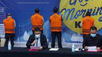 Pasca OTT Menteri KP Edhy Prabowo KPK menggelar Konpers, Rabu (25/11) malam. Foto Istimewa for radarcom.id