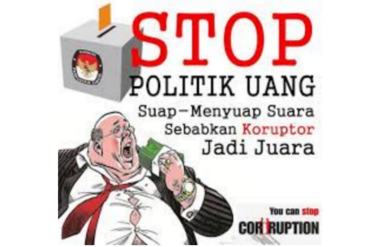 Illustrasi Stop Politik Uang di Pilkada 2020. (Itsimewa)