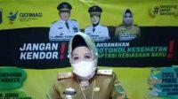 Kepala Dinas Kesehatan Provinsi Lampung Reihana saat memberi keterangan. Bandarlampung, Senin 11/1/2021 (ANTARA/tangkap layar- Dinkes)