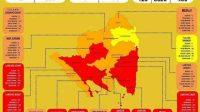 Jumlah Kasus COVID-19 di Lampung terkini. Kamis. (21/1/2021). (ANTARA/Dian Hadiyatna)